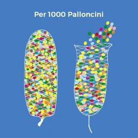 Rete per rilascio 1000 palloncini