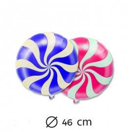 Globo Caramelo Foil 46 cm