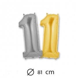 Palloncino Numero 1 Foil 81 cm