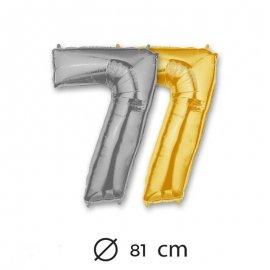 Palloncino Numero 7 Foil 81 cm