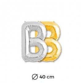 Palloncino lettere B Foil 40 cm