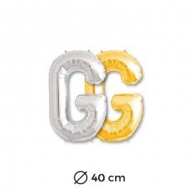 Palloncino G Foil 40 cm