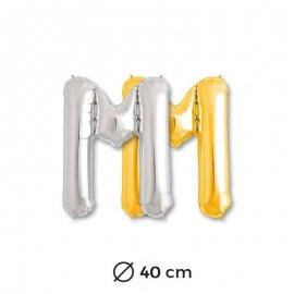 Palloncino M Foil 40 cm