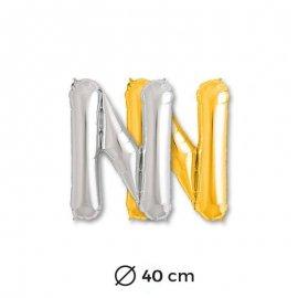 Palloncino Forma N Mylar 35 cm