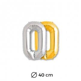 Palloncino Lettera O Mylar 35 cm