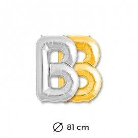 Palloncini Lettera B Foil 81 cm