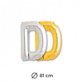 Palloncini Lettera D Foil 81 cm