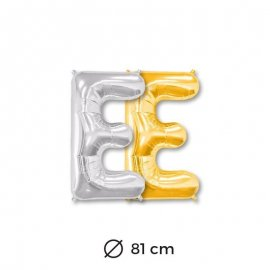 Palloncini Lettera E Foil 81 cm
