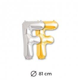 Palloncini Lettera F Foil 81 cm