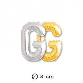 Palloncini Lettera G Foil 81 cm