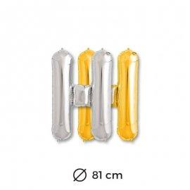 Palloncini Lettera H Foil 81 cm