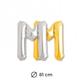 Palloncini Lettera M Foil 81 cm