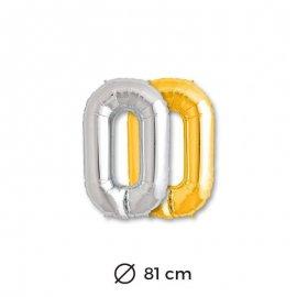 Palloncini Lettera O Foil 81 cm