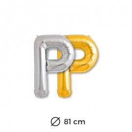 Palloncini Lettera P Foil 81 cm