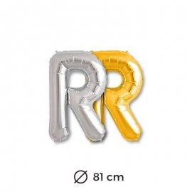 Palloncini Lettera R Foil 81 cm