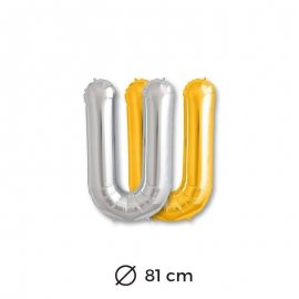 Palloncini Lettera U Foil 81 cm