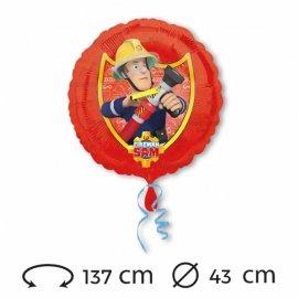 Palloncino di Sam il Pompiere Foil 43 cm