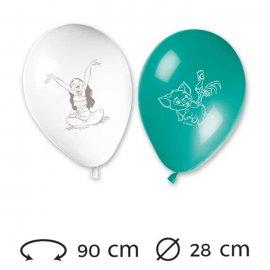 8 Palloncini Oceania 28 cm