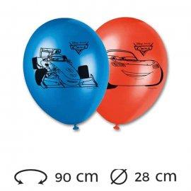 8 Palloncini 28 cm Cars