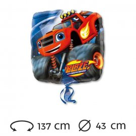 Globo Blaze Foil Cuadrado 43 cm