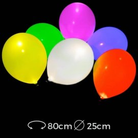 Palloncini Luminosi a Led 25 cm