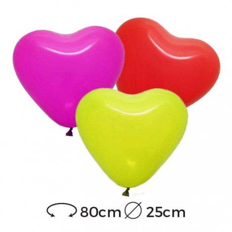 Palloncini Cuore Lattice 25 cm
