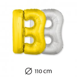 Palloncini Lettera B Foil 110 cm