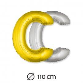 Palloncino Lettera C Foil 110 cm