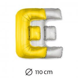 Palloncino Lettera E Foil 110 cm