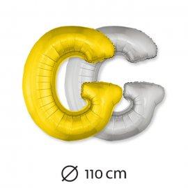 Palloncino Lettera G Foil 110 cm