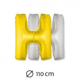 Palloncino Lettera H Foil 110 cm
