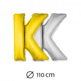 Palloncino Lettera K Foil 110 cm