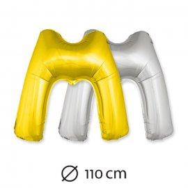 Palloncino Lettera M Foil 110 cm