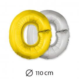 Palloncino Lettera O Foil 110 cm