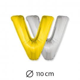 Palloncino Lettera V Foil 110 cm