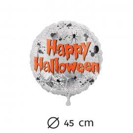 Palloncino Happy Halloween Ragni in Foil