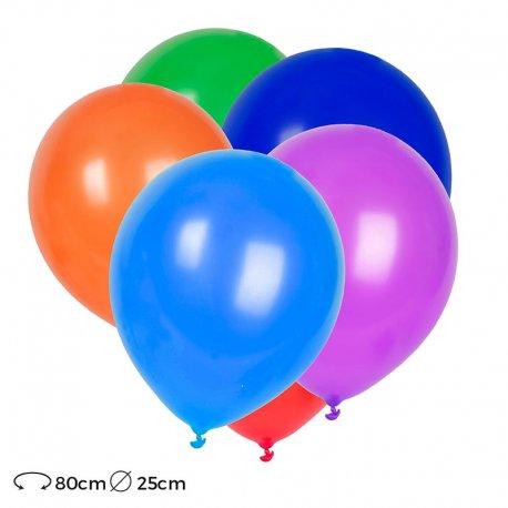 Palloncini in Lattice Rotondi 25 cm