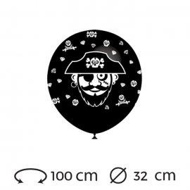 Palloncini Pirata Rotondi 32 cm