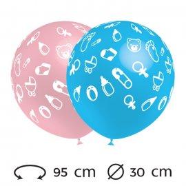 Palloncini Baby Rotondi 30 cm