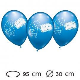 Palloncini Bimbo Matematica Rotondi 30 cm