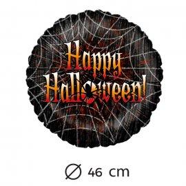 Palloncino Happy Halloween Ragnatela Foil 46 cm