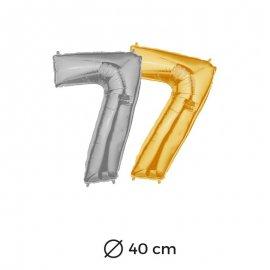 Palloncino Numero 7 Foil 40 cm